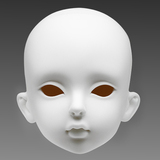 1/3 bjd  ares head