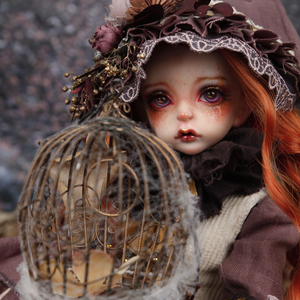 【In-stock】1/4 BJD Girl ,Andisi,Dried flower elf