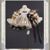 1/6 bjd Puff outfit + shoes + wig
